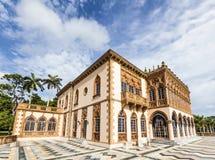 Ca, der d'Zan ist, ist ein durchdachtes Venetianisch-Ähnliches Landhaus, das im Teil af modelliert wird stockfotografie