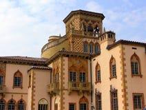Stylu palazzo Cà dZan w Sarasota, Flori Zdjęcia Stock
