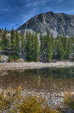 CA-Great Basin National Park-Alpine Lakes Trail. Nevada-Great Basin National Park-Alpine Lakes Trail. Autumn in Great Basin is a most colorful event, which makes Royalty Free Stock Images