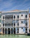 ca kanałowego d uroczysty oro pałac Venice Obraz Royalty Free
