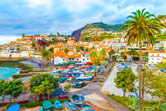 "CA¢maraa de罗伯斯†""马德拉岛海岛,葡萄牙 免版税图库摄影"