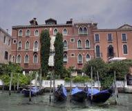 ca narożnikowy gondoli martinengo rava Venice Zdjęcia Royalty Free