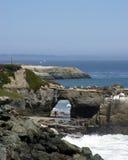 CA - Natural Bridges. Vertical shot of Natural Bridges in Santa Cruz, CA Stock Photo