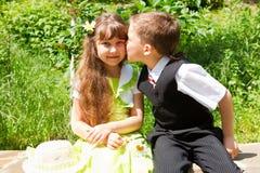 całowanie Zdjęcia Stock