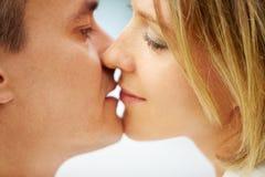 całowanie Obrazy Stock