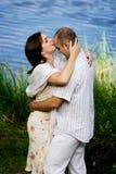 całowanie pary Fotografia Stock