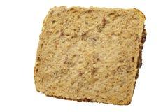 Cała pszeniczna chlebowa rolka Zdjęcia Royalty Free