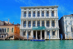 Venice. Ca' Rezzonico Museum is one of the most visited museums in Venice, Italy Royalty Free Stock Photo