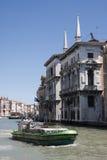 Ca ` Tron e Palazzo Belloni Battagia Royalty-vrije Stock Afbeelding