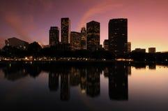 CA van Los Angeles van gebouwen Royalty-vrije Stock Afbeeldingen