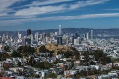 Ca van San Franccico De zomer van 2018 royalty-vrije stock fotografie