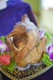 Cały kurczak Fotografia Royalty Free