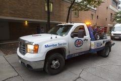 CAA Holownicza ciężarówka w Toronto Obrazy Stock