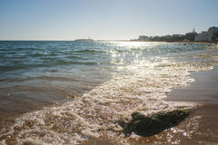 CaA±oss De Meca Beach 免版税图库摄影
