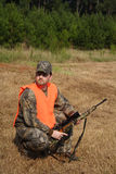 Caçador - caça - desportista Foto de Stock