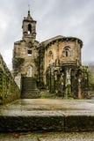 Caaveiro monastery Royalty Free Stock Images
