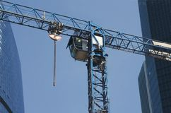 Cab of elevating crane Royalty Free Stock Image