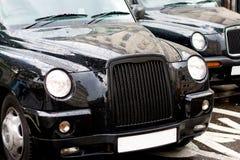cab london Royaltyfri Foto