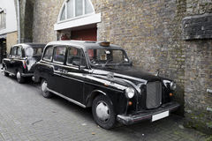 cab london Arkivfoton