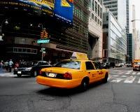 cab New York Royaltyfri Foto