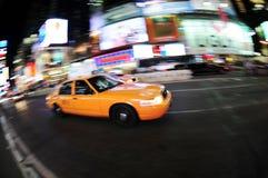 cab new york Στοκ φωτογραφία με δικαίωμα ελεύθερης χρήσης