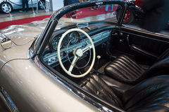 Cab of roadster Mercedes-Benz 300SL (W198), 1957. Stock Photo