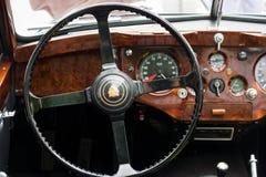 Cab sports car Jaguar XK140 Stock Image