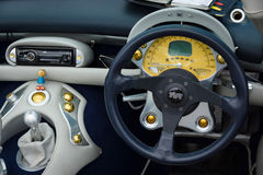 Cab of a sports car TVR Tuscan Speed 6 Stock Photos