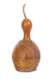 Cabaça de garrafa secada usada para a cantina tradicional Imagem de Stock Royalty Free
