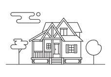 cabaña ilustración del vector