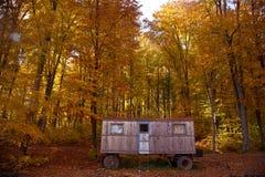 Cabaña abandonada Foto de archivo libre de regalías