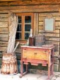Cabaña antigua Fotografía de archivo