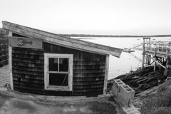Cabaña costera de los mariscos Fotografía de archivo