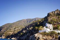 Cabaña de la casa en las montañas Imagen de archivo