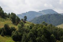 Cabaña de la granja de las montañas de Apuseni Imágenes de archivo libres de regalías