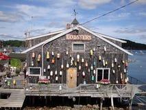 Cabaña de la langosta Fotos de archivo libres de regalías
