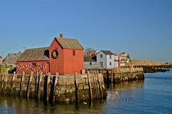 Cabaña de la langosta de la pesca Foto de archivo libre de regalías