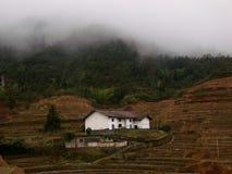 Cabaña de la montaña imagen de archivo libre de regalías