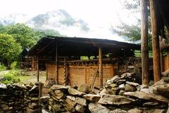 Cabaña de la nacionalidad de Lisu Fotos de archivo