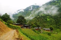 Cabaña de la nacionalidad de Lisu Fotos de archivo libres de regalías