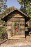 Cabaña de la Navidad imagen de archivo