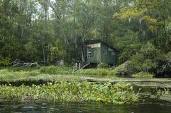 Cabaña de la pesca imagen de archivo libre de regalías