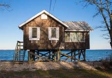 Cabaña de la playa de Hampton del este, Nueva York Fotos de archivo libres de regalías