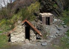 Cabaña de los mineros imagen de archivo