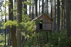 Cabaña de madera Foto de archivo