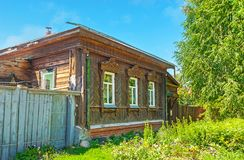 Cabaña de madera vieja en Suzdal Fotos de archivo