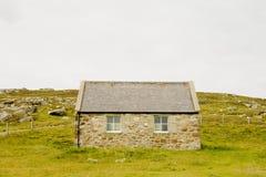 Cabaña de piedra Fotografía de archivo libre de regalías