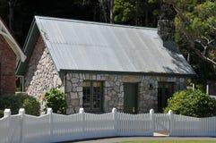 Cabaña de piedra Foto de archivo libre de regalías