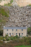 Cabaña de piedra Imagenes de archivo