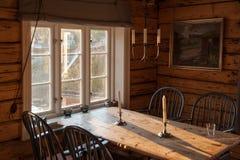 Cabaña de Rorbu en Lofoten Imágenes de archivo libres de regalías